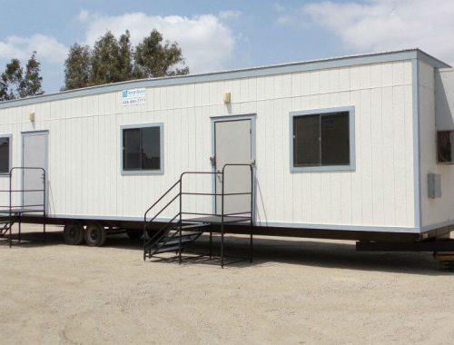 office trailer rental cost