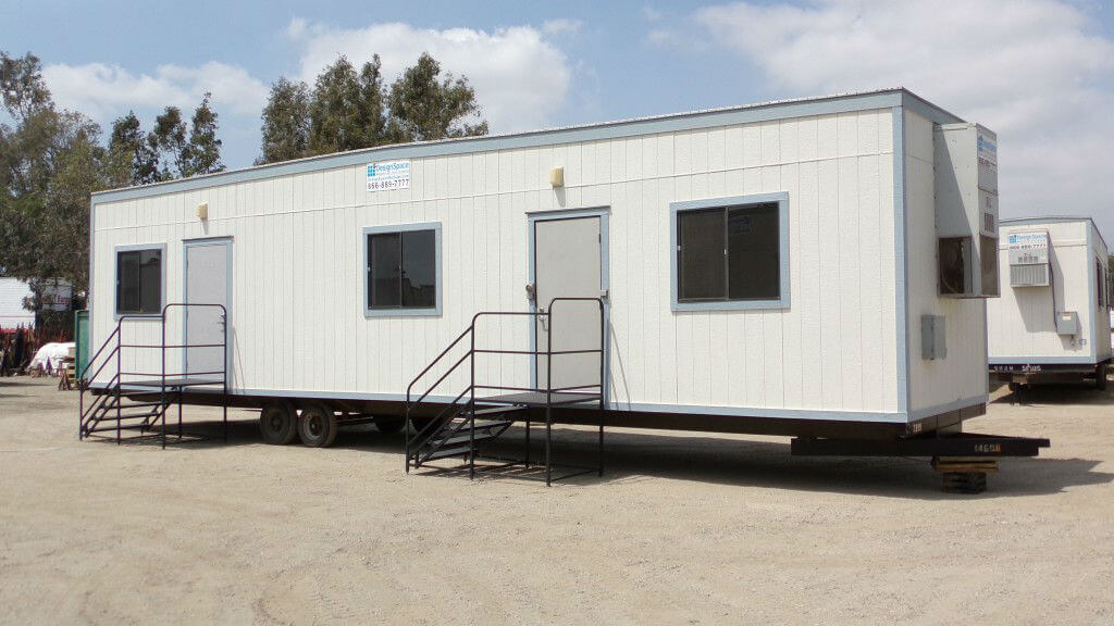 office trailer rental cost