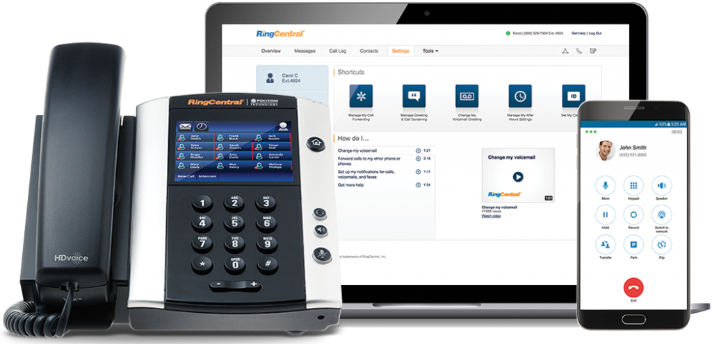 ringcentral business phone system