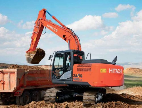 hitachi excavator for sale