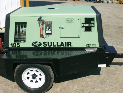 air compressor rental cost