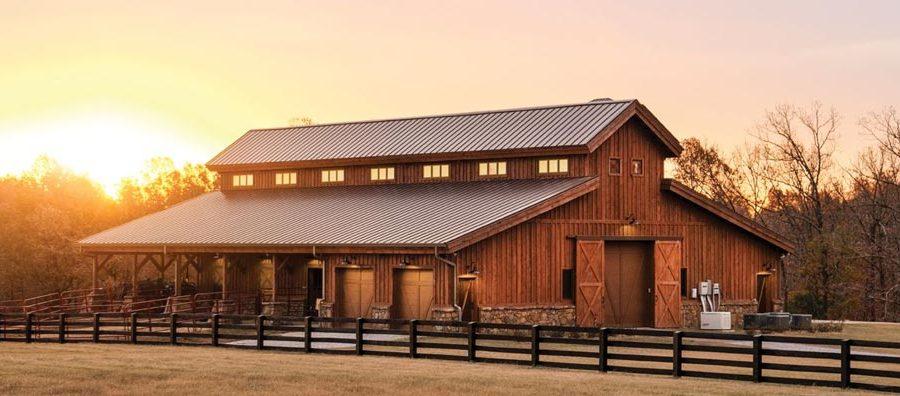 labor cost to build a pole barn