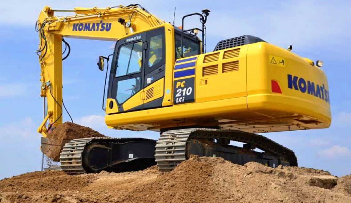Komatsu Excavator Price