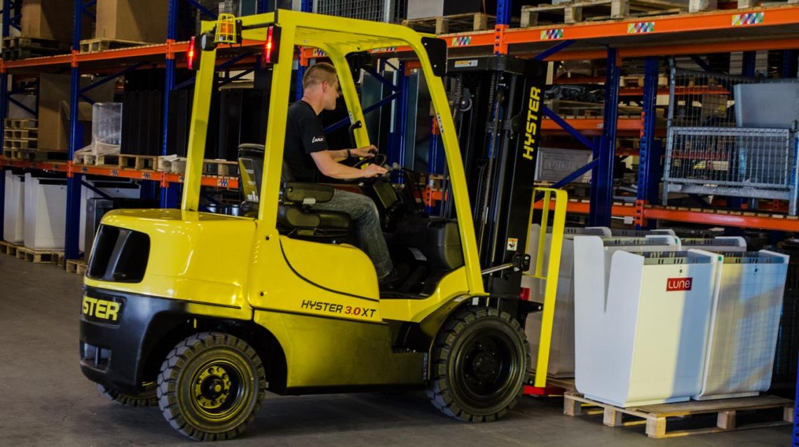 hyster forklift price
