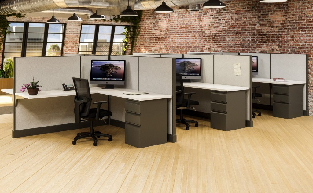 cubicles with walls